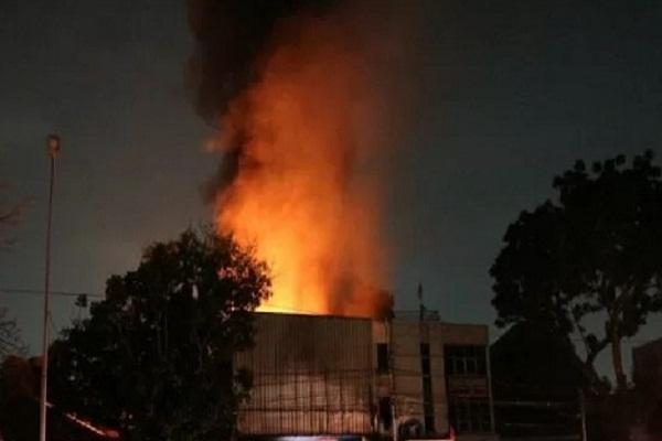 Ruang di Kejaksaan Negeri Semarang Kebakaran