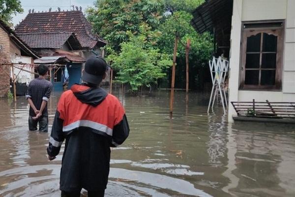 Sungai Gondang Ikut Meluap, Banjir di Kudus Meluas