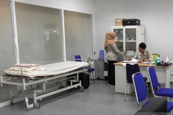 Ruang Isolasi Korban Virus Corona Disiapkan di Bandara Semarang