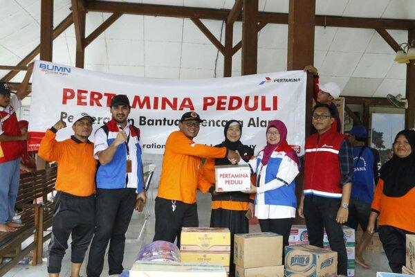 Pertamina Pasok Logistik Dapur Umum Korban Banjir Grobogan & Pati