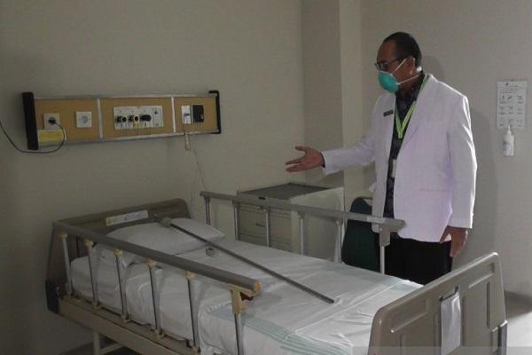 Ruang Isolasi RSUP dr. Kariadi Semarang Siap Terima Pasien Virus Corona