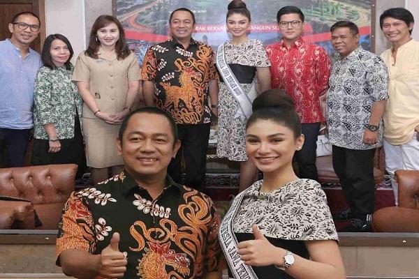 Giliran Wali Kota Semarang Dipamiti Jihane Almira Chedid