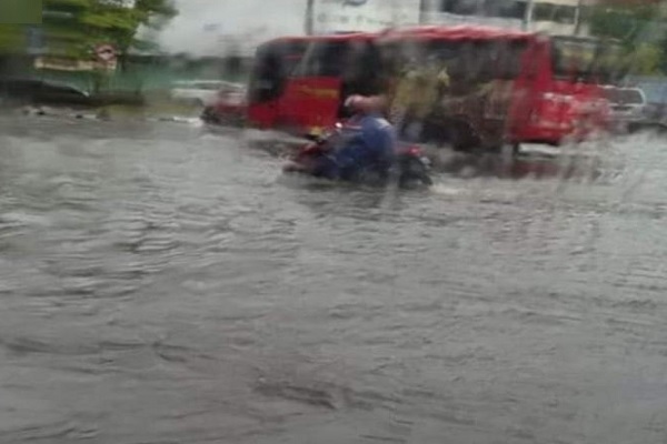 BPBD Kota Semarang Pasang EWS di Tujuh Lokasi Rawan Banjir, Mana Saja?