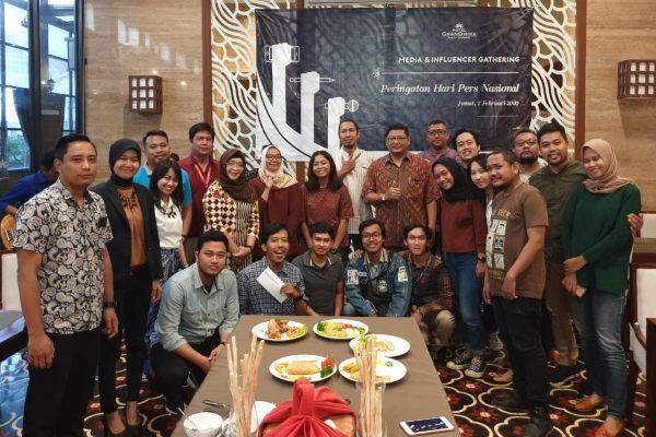 Hotel Grandhika Semarang Rayakan HPN 2020