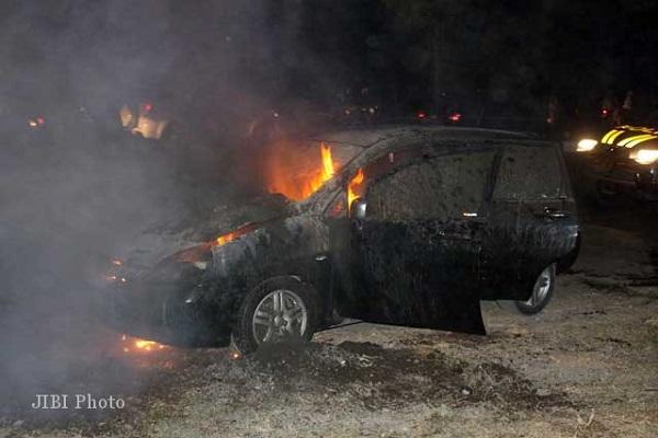 Terungkap, Ini Pelaku Pembakar Mobil pada Pilkades Temanggung