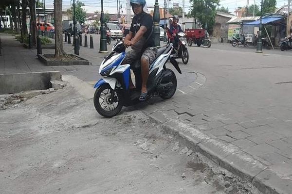 Jalan Branjangan Rusak Direspons Wali Kota Semarang