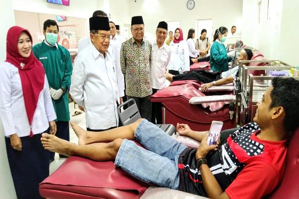 Jusuf Kalla Beri Pujian ke PMI Jateng