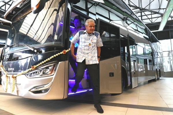 10 Bus Tingkat Buatan Jateng Diekspor ke Bangladesh