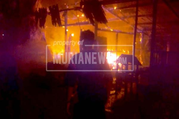 Kebakaran Ludeskan Toko Sembako di Grobogan