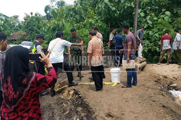 Pencemaran Limbah di Grobogan Matikan Pepohonan