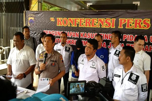 Polda Jateng Ringkus Komplotan Pembobol ATM Bank di Magelang