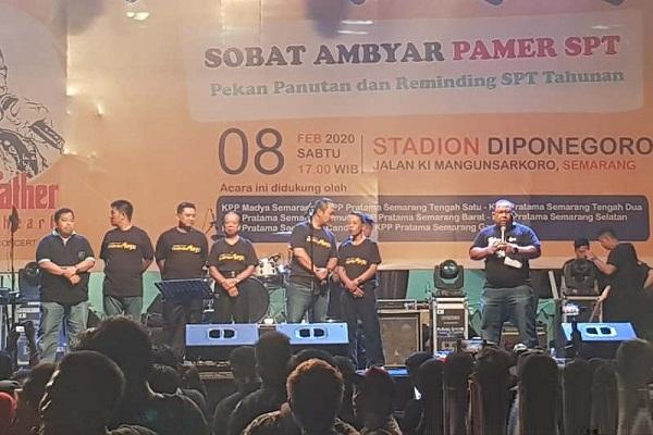 Didi Kempot Konser di Semarang demi Masyarakat Dini Laporkan SPT Pajak