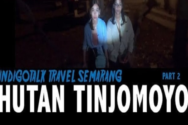 Ada Suara Misterius Terekam Vlog Billy Christian dari Hutan Tinjomoyo