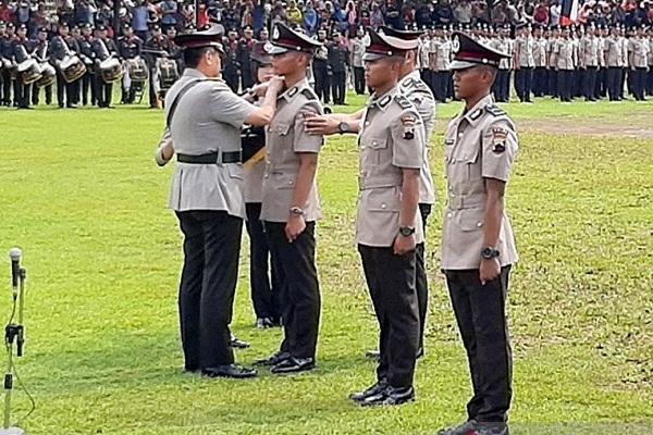 Kapolda Jateng Lantik 660 Bintara Baru Polri