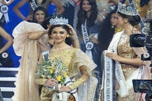 Wakili Jateng, Jihane Almira Chedid Juara III Puteri Indonesia 2020
