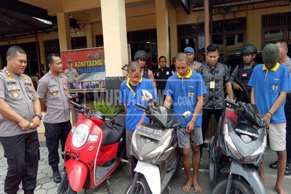ABG Begal di Grobogan Ditangkap, Rekaman CCTV Sempat Viral