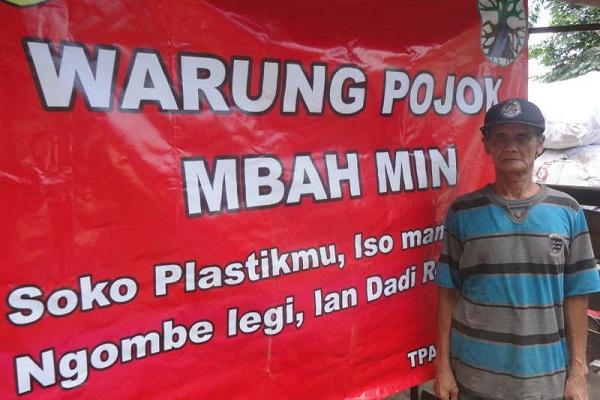 Warung di Semarang Ini Cukup Dibayar Sampah