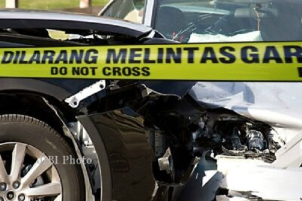 Kecelakaan di Jalan Lingkar Salatiga, Rem Blong, Truk Tabrak Tukang Batu