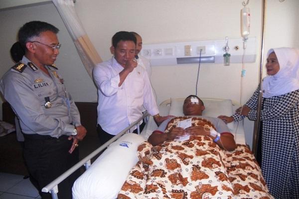 RS Kariadi Bantah Ajudan Anggota DPR Imam Suroso Meninggal