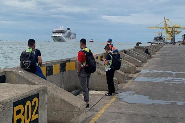 Akhirnya, Kapal Viking Sun Boleh Berlabuh di Semarang