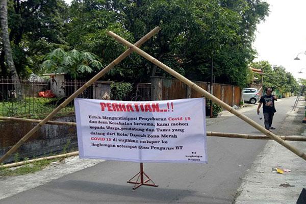 Terapkan Lockdown RT, Salatiga Beri Kompensasi Rp200.000 Per KK