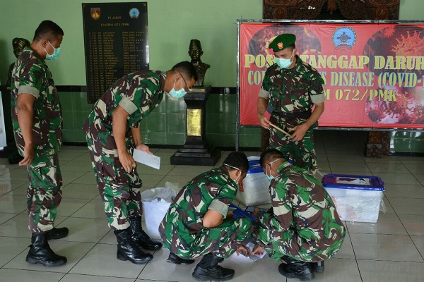 Bentuk Satgas Covid-19, Kodam Diponegoro Siapkan 8 Rumah Sakit Tentara