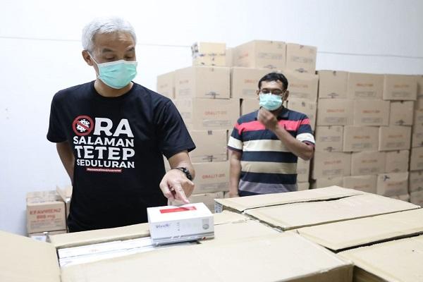 8.400 Rapid Test Tiba di Jateng, Prioritas untuk ODP