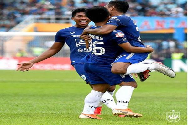 PSIS Semarang Kalahkan Arema FC 2-0
