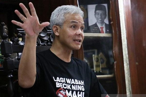 Soal Lockdown, Gubernur Jateng Minta Kota Tegal Belajar dari Wonogiri