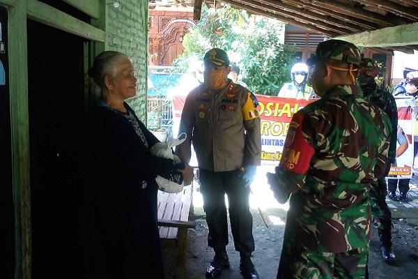 Warga Purwodadi Terkejut Didatangi Polisi dan TNI di Tengah Covid-19