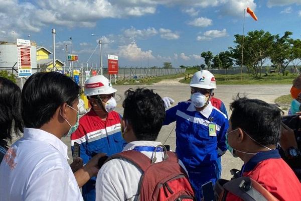 Cerobong Pengembangan Gas Jawa Blora Terbakar, Pertamina Lakukan Stabilisasi