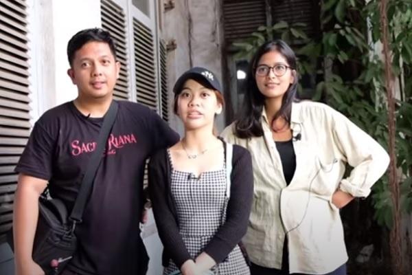 Balkon Gedung Bekas Kantor Semarang Bikin Kru Billy Christian Merinding