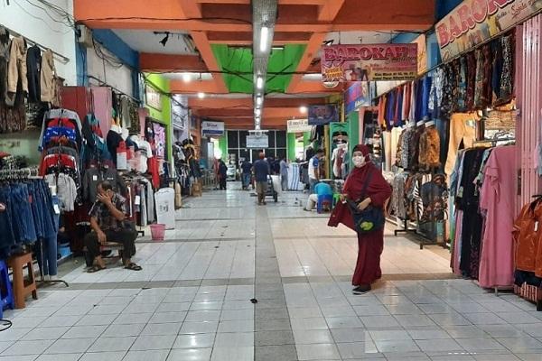 Pedagang Dituduh Langgar Protokol Kesehatan, Blok Pasar Kliwon Kudus Terancam Ditutup