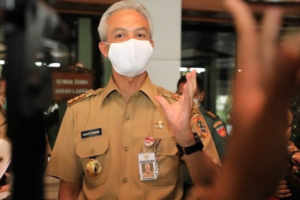 Jalankan Anjuran WHO, Jateng Canangkan Gerakan 35 Juta Masker