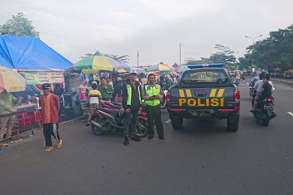 Penutupan Pasar Tiban JLS Salatiga Diperpanjang hingga Mei