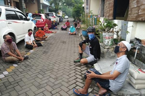 Jalanan Ramai, Warga Semarang Belum Sadar Bahaya Covid-19