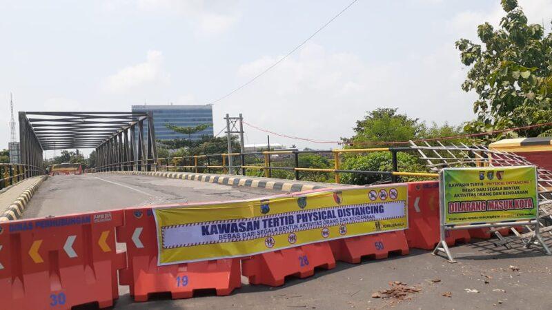 Sudah Zona Merah Covid-19, Penutupan Akses Jalan di Semarang Ditambah, Ini Lokasinya…