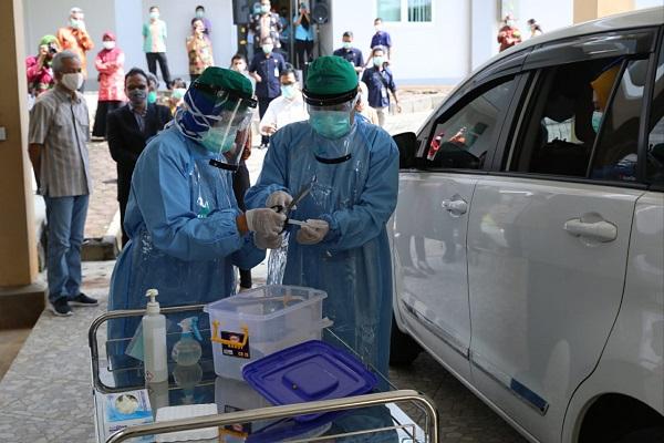 Pacu Kapasitas 3 Laboratorium Covid-19, Jateng Targetkan 8.000 Tes PCR Per Hari