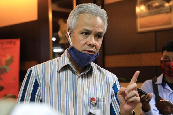 Gubernur Ganjar Setuju Pilkada Serentak 2020 Ditunda
