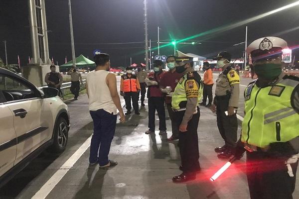 Larangan Mudik, 655 Kendaraan Dipaksa Putar Balik dari Jateng