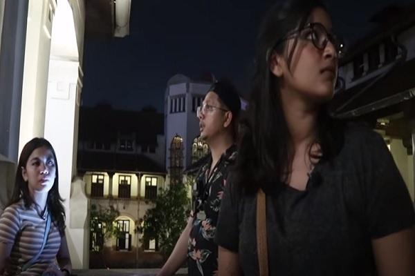 Noni Belanda di Lawang Sewu Semarang Mundur Saat Dihampiri 2 Gadis Indigo