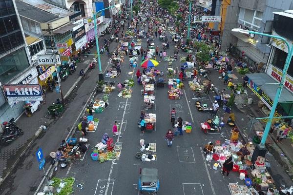 Pasar di Salatiga Batal Ditutup Akhir Pekan Nanti