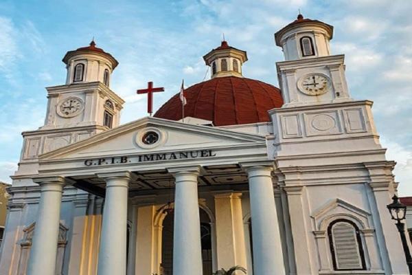 Yuk Intip Gereja Blenduk yang Ikut Jadi Saksi Perkembangan Semarang