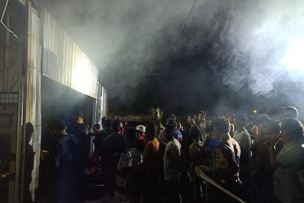 Toko Kelontong di Wirosari Grobogan Terbakar, Sembako Bantuan Ikut Hangus