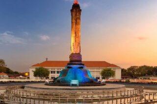 Monumen Tugu Muda yang menjadi saksi kemerdekaan di Kota Semarang. (Instagram—Semarang)