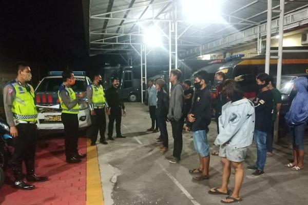 Miris, Belasan Pemuda Grobogan Diciduk Polisi Pas Pesta Miras