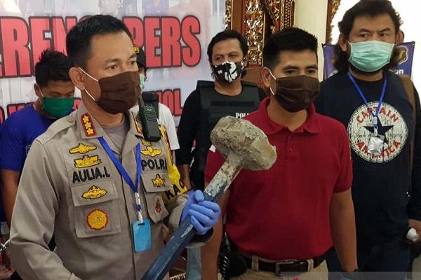 4 Pemuda Pembunuh Tukang Becak di Semarang Ditangkap