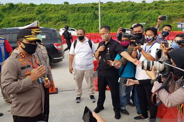 Polda Jateng Cegah 3.400 Kendaraan Balik ke Perantauan