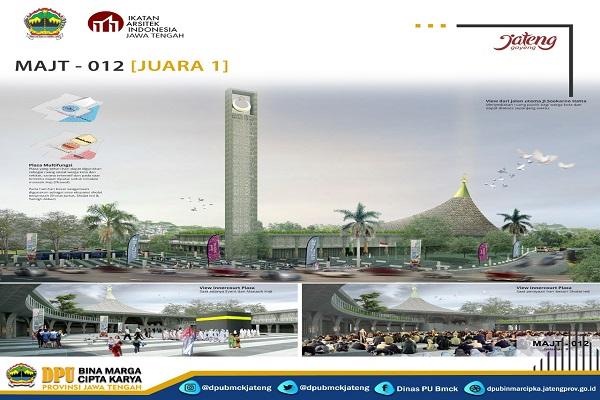 Arsitek Bandung Menangi Sayembara Desain MAJT Magelang, Begini Rancangannya…