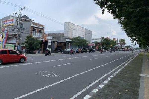 Jalan Lawu Karanganyar Dibuka Lagi, PKL Alun-Alun Boleh Berjualan Kembali